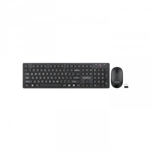 Zestaw bezprzewodowy klawiatura+mysz Perixx PERIDUO-717 czarny