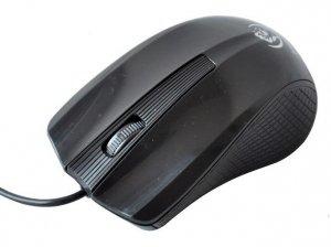 Mysz przewodowa Rebeltec BLAZE optyczna 1000DPI 3 przyciski USB czarna