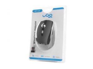Mysz bezprzewodowa UGO MY-03 optyczna 1800 DPI czarna