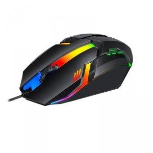 Mysz przewodowa VAKOSS TM-5133K, Gaming, podświetlenie RGB