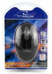 Mysz przewodowa Titanum 3D RAPTOR TM102