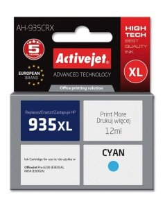 HP 935XL CYAN 12ml ACTIVEJET (zamiennik HP C2P24AE )