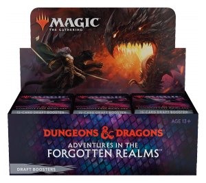 MTG - Adventures in the Forgotten Realms - Draft boosters box (36)