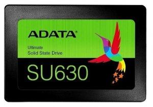 Dysk SSD ADATA Ultimate SU630 480GB 2,5 SATA3 (520/450 MB/s) 7mm, 3D QLC / Black Retail