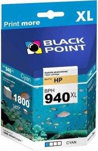 BLACK POINT HP TUSZ BPH 940XL OFFICEJET PRO 8000 CYAN