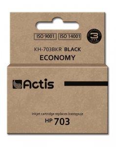 Tusz ACTIS KH-703BKR (zamiennik HP 703 CD887AE; 15 ml; czarny)