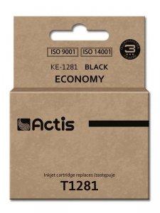 Tusz ACTIS KE-1281 (zamiennik Epson T1281; Standard; 15 ml; czarny)