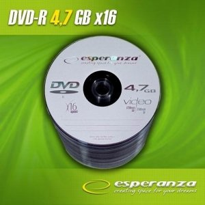 DVD-R Esperanza 16x 4,7GB 1 sztuka