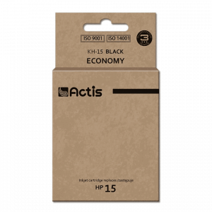 Tusz ACTIS KH-15 (zamiennik HP 15 C6615N; 44 ml; czarny)