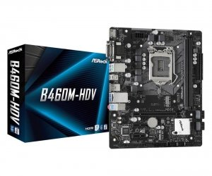 Płyta ASRock B460M-HDV /B460/DDR4/SATA3/M.2/USB3.1/PCIe3.0/LGA1200/mATX