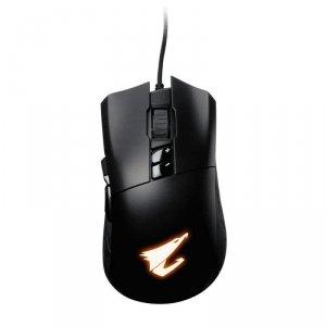 Mysz przewodowa Gigabyte AORUS M3 optyczna Gaming USB czarna