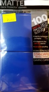 Ultra PRO Matte Deck Protector Sleeves (Blue)