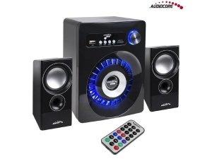 Głośniki Bluetooth Audiocore AC910 2.1, radio FM, wejście kart TF, AUX, zasilanie USB
