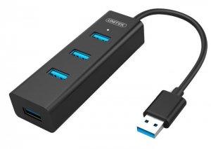 Hub USB 4xUSB 3.0 Unitek Y-3089