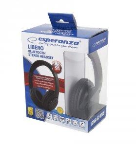 ESPERANZA EH163K LIBERO - SŁUCHAWKI BLUETOOTH 3.0. STEREO