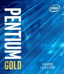 Procesor Intel Pentium® Gold G6400 4,00GHz 4MB LGA1200