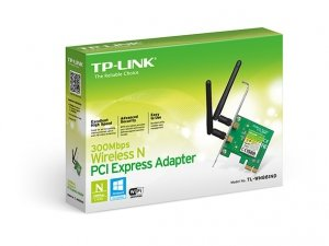 TP-Link TL-WN881ND karta sieciowa PCIe Wireless 802.11n/300Mbps 2 odłączalne ant