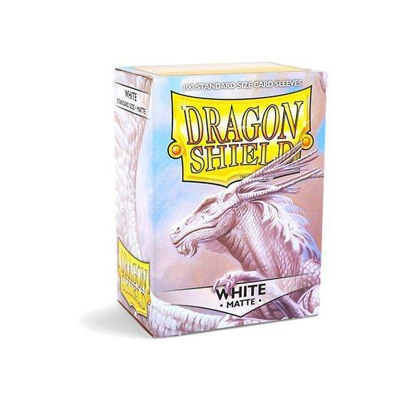 KOSZULKI DRAGON SHIELD WHITE matte  100SZT