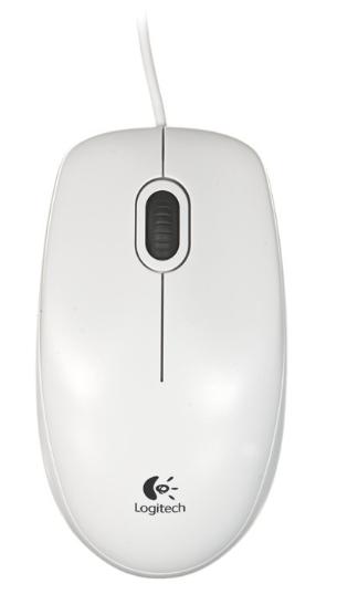 Mysz przewodowa B100 Optical USB Mouse for Business, white