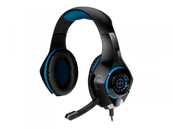 Słuchawki gamingowe Battle Heroes Gunman Blue LED TRACER TRASLU45688