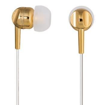 Słuchawki z mikrofonem Thomson EAR3005GD złote