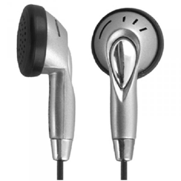 Słuchawki z mikrofonem Titanum TH101 srebrno-czarne