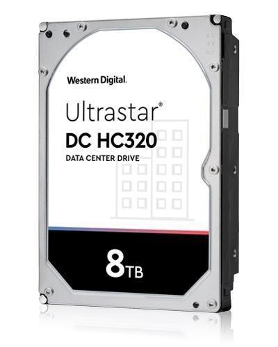 "Dysk Western Digital Ultrastar DC HC320 7K8 8TB 3,5"" 256MB SAS 512e SE P3 DC HUS728T8TAL5204"