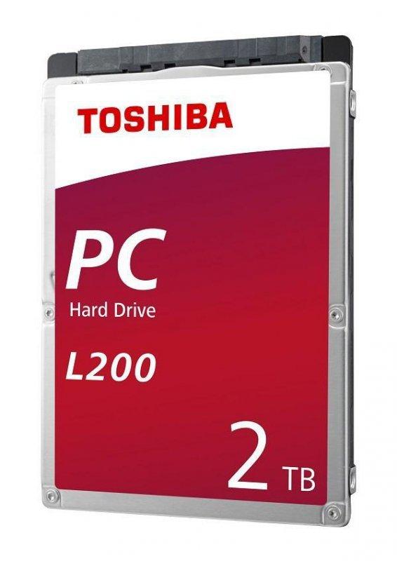 "Dysk Toshiba L200 Mobile 2TB 2,5"" SATA 5400rpm 128MB BOX"