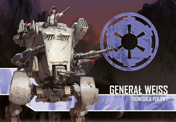 Star Wars: Imperium Atakuje PL Generał Weiss - Dowódca polowy