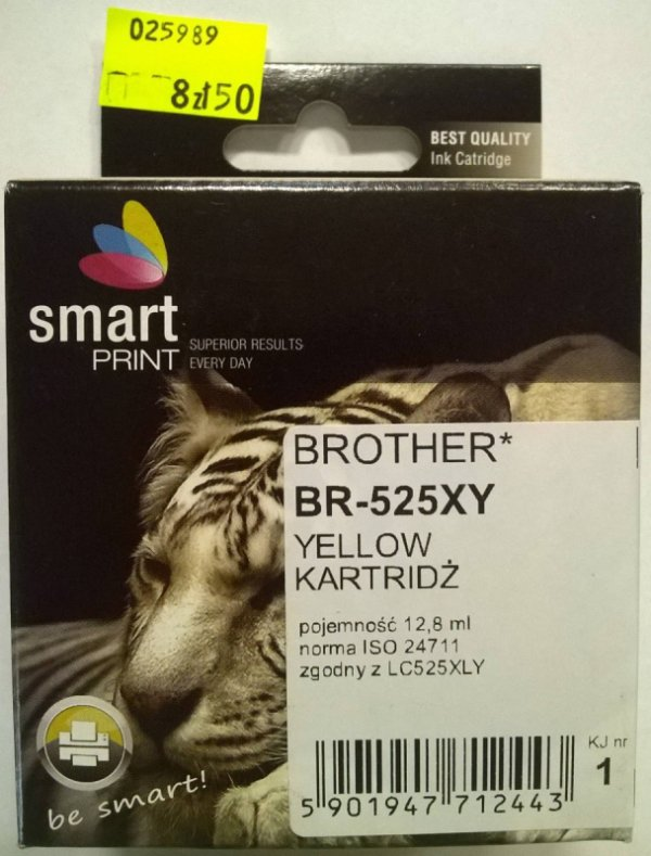BROTHER LC525XL YELLOW   smart PRINT