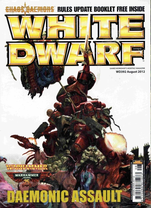 WHITE DWARF 392.front