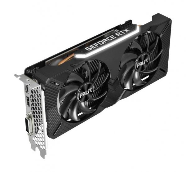 PALIT GeForce RTX 2060 Dual 6GB, GDDR6, HDMI, DP, DVI