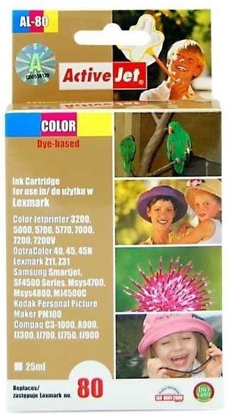 Lexmark 12A1980 AL-80 K ACTIVEJET
