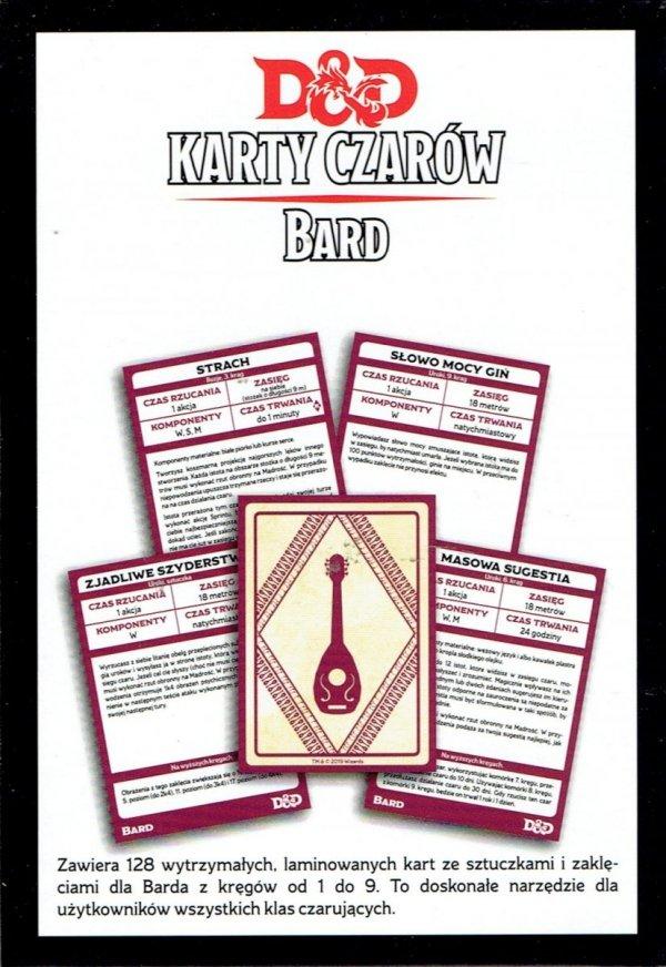 Dungeons & Dragons: Karty czarów - Bard 5.0 PL