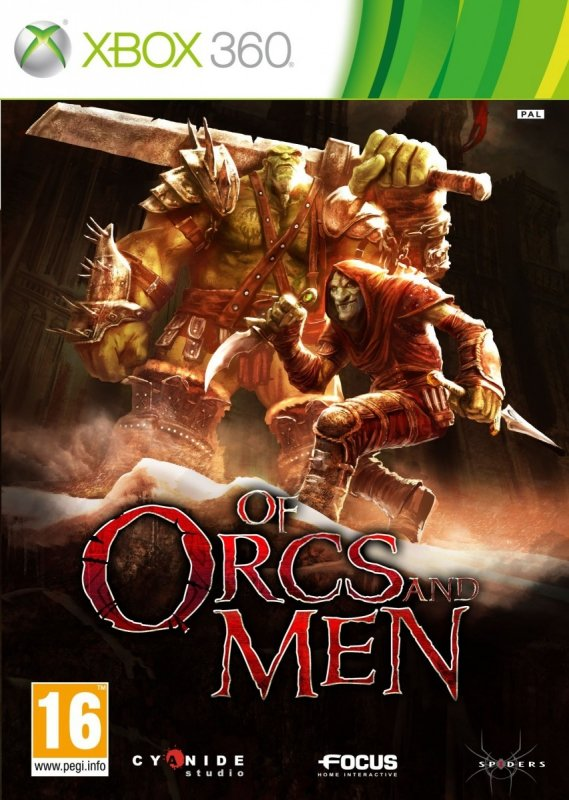 OF ORCS AND MEN           X360