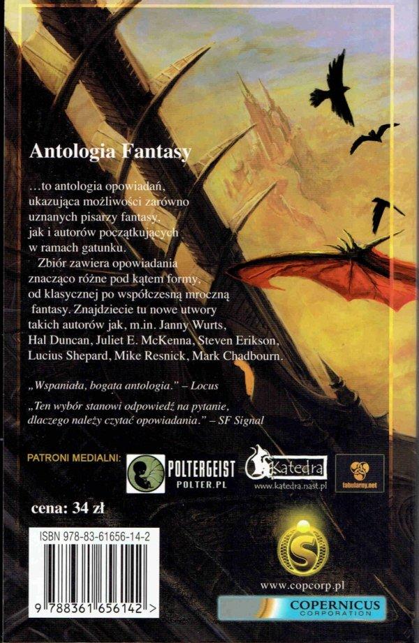 Antalogia Fantasy. pod redakcją Gerge'a Manna. tył książki. 34 zł