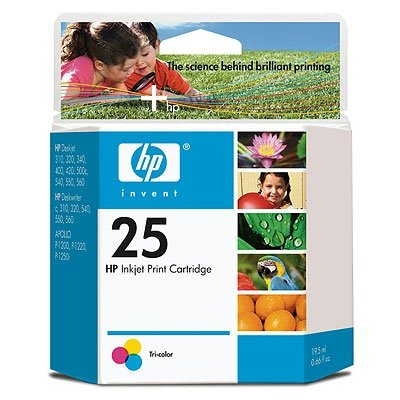 HP 25 DJ 3XX,4XX,5XX C,540