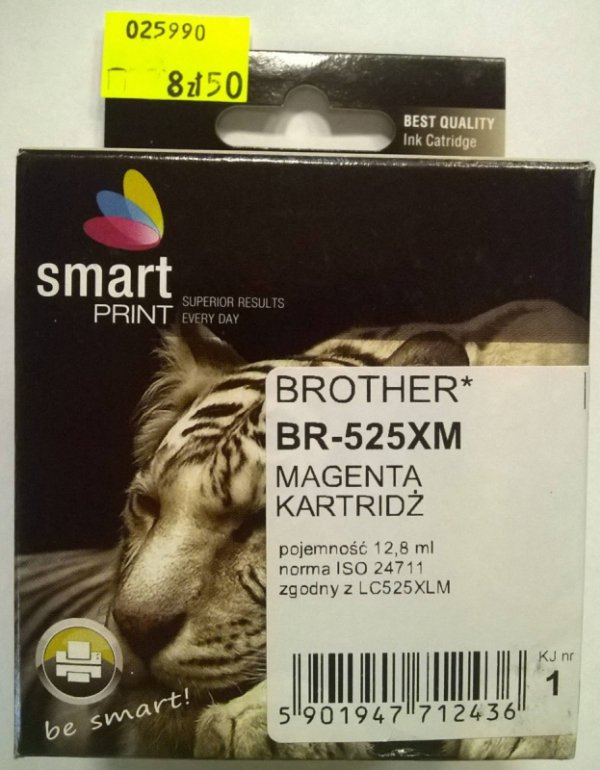 BROTHER LC525XL MAGENTA  smart PRINT