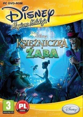KSIĘŻNICZKA I ŻABA PC DVD