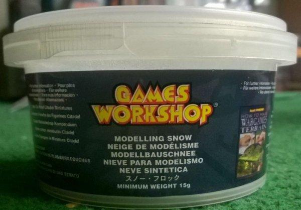 MODELLING SNOW TUB