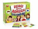 Gra rodzinna Dzieci kontra rodzice: kalambury