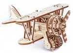 Drewniane puzzle mechaniczne 3D Wooden.City - Samolot #T1