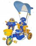 Rowerek trójkołowy 3w1 UFO niebieski - moc atrakcji