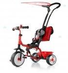 Rowerek trójkołowy BOBY DELUXE czerwony -  nowoczesny design