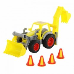 WADER 0377 Traktor-ładowarka z łyżką ConsTruck