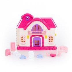 Domek dla lalek Bajka zestaw mebli  78261