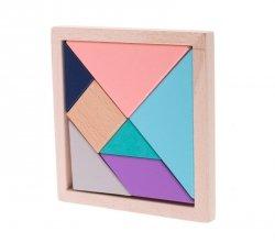 Układnka drewniana logiczna klocki tangram