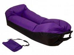 Lazy BAG SOFA łóżko dmuchane leżak 3 gen fioletowa
