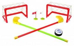 Gra Hokej Unihokej latający krążek - bramki krążek