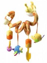 Grzechotka Spirala zawieszka do wózka Żyrafa